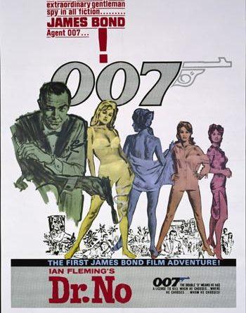007 살인번호 포스터