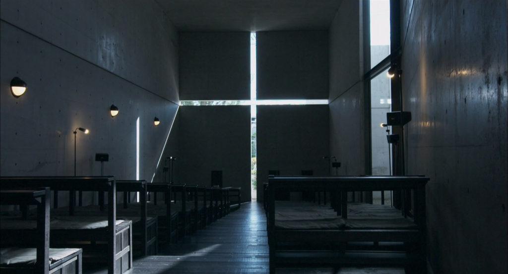 건축가 안도 타다오의 작품 '빛의 교회'