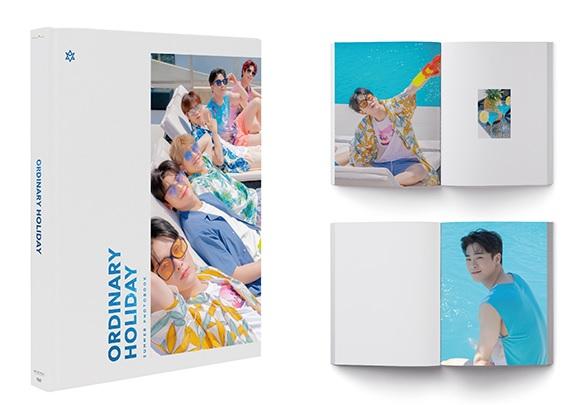 그룹 아스트로의 여름화보집 ORDINARY HOLIDAY